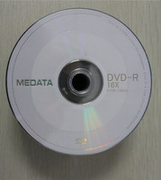 Chinese products wholesale blank dvd MEDATA dvd-r