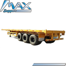 Cheap 20ft Flatbed Container Semi Trailers from Utility Trailers Company Model SM066