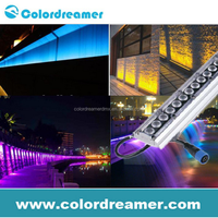 Waterproof IP65 rgb wall washer high power dmx led wall washer light