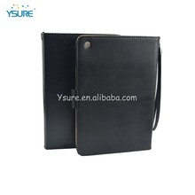 leather computer bags case with card slot and string for ipadmini 2
