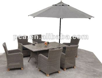 Lowes Resin Wicker Patio Furniture With 3m Umbrella Buy