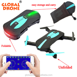 Foldable Pocket drone Jy018 0.3/2MP 720P mini drone camera for kids toy vs jjrc H37