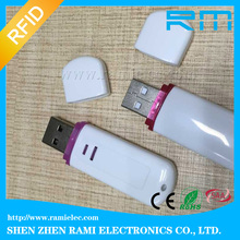 125khz/13.56mhz android rfid USB reader (support Linux,Windows,Android OS,support EM4100)