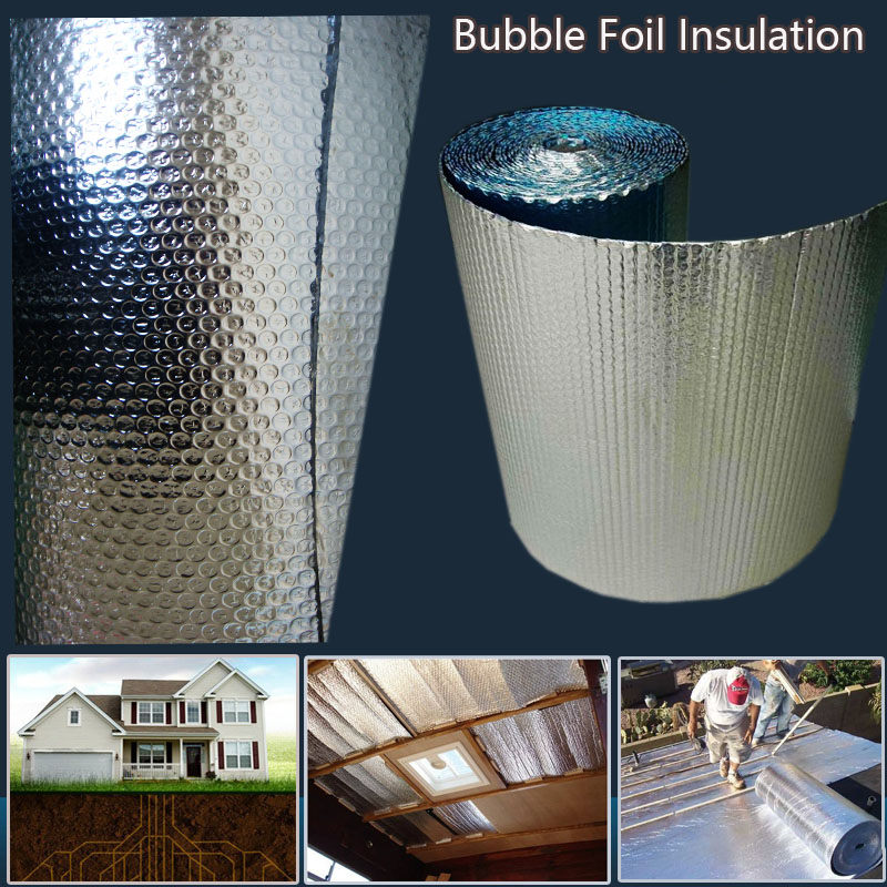 Factory directly sell cool shield foil bubble roof insulation supplier