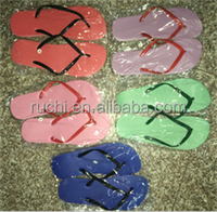 good market mixed colored eva sole material flipflops women slippers shoe