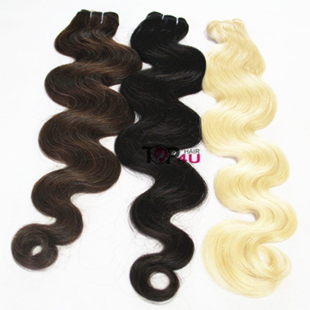 Wholesale hair weave distributors,Brazilian human hair wet and wavy weave