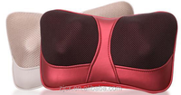 Best quality factory supply electric shiasu massager pillow back neck massage pillow car used massage pillow with heating