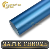Guangzhou Eaglel Buble Free Self Adhesive Matte Chrome Car Vinyl Wrap