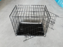 double door puppy dog cage house wholesale