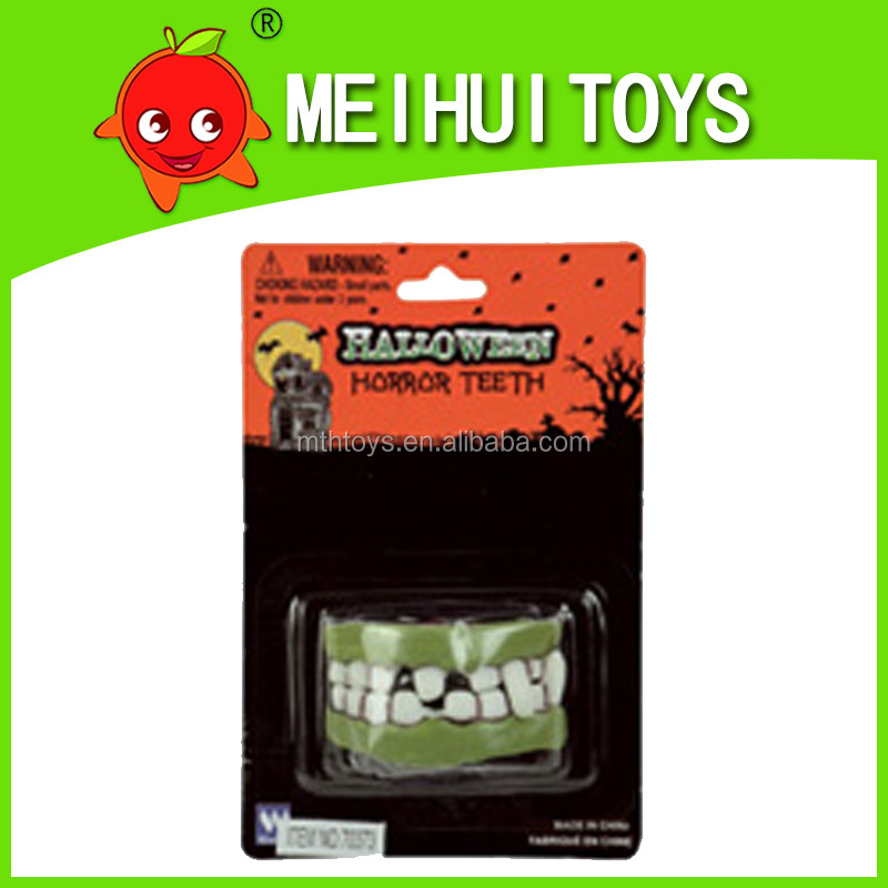funny halloween party vampire fangs, fake teeth toy