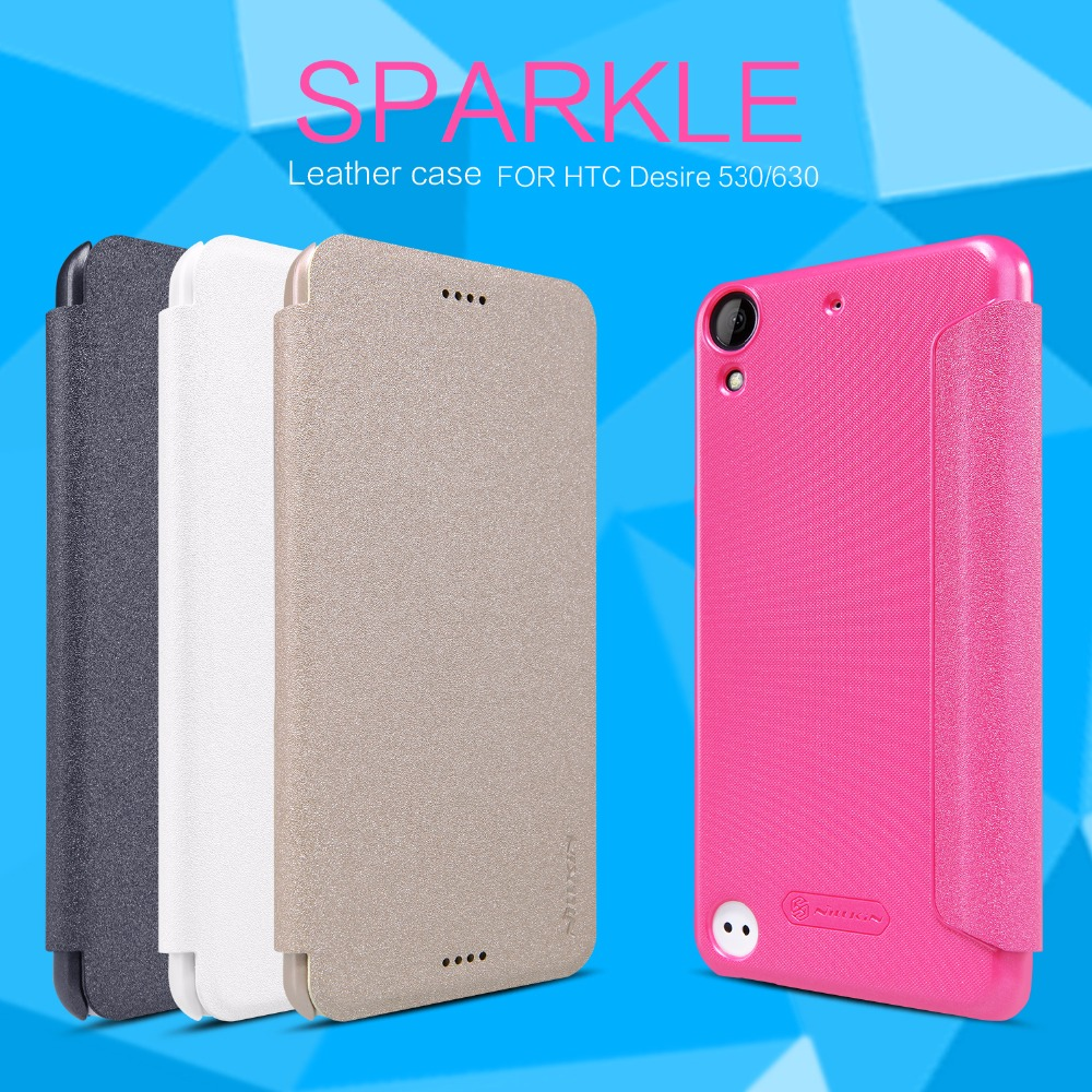 Nillkin Sparkle Flip Leather cover Mobile Phone case for HTC Desire 530 / 630