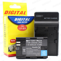 hot battery pack for digital camera LP -E6 battery and charger