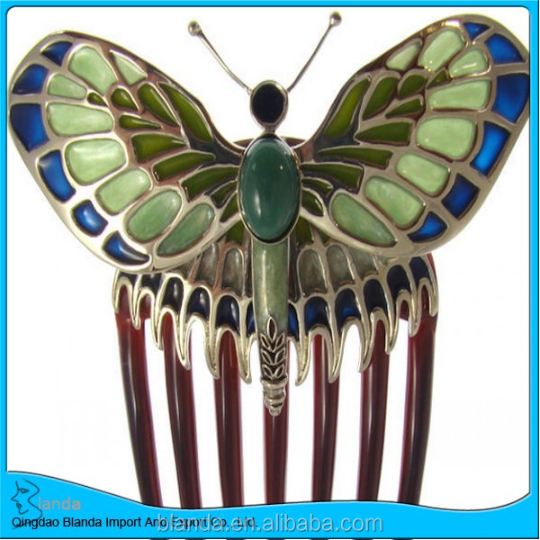 unique butterfly steel combs with fast delivery