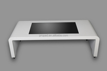 4k supported table magic lcd touch kiosk in bus