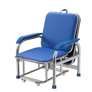 Stainless Steel Medical Hospital Furniture Transfusion Chair Blood Collection Phlebotomy Chair for Patient Used