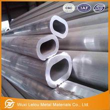 cost price high quality oval aluminium tubes