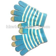 2012 latest iphone screen touch gloves touch screen glove