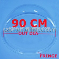 Outer dia 90cm clear hollow acrylic spheres