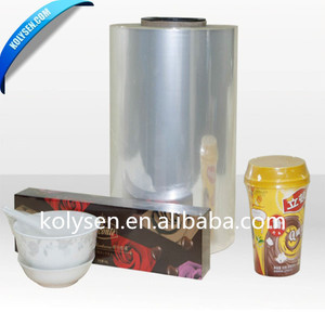 Heat Polyethylene Film PE Shrink Film for drink bottle packaging
