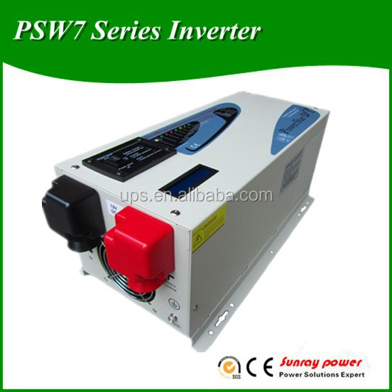 PSW7 Series 12 volt 220 volt inverter LCD Screen,Battery Charger