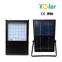 Promotional Solar Powered Sensor Light Outdoor with 84pcs LED