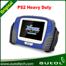 2016 Original XTOOL PS2 Heavy Duty Scanner for Vo-lvo, S-cani-a, D-af, Ivec-o, Ren-ault, H-ino, M-an etc and free update online