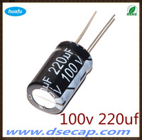 capacitor hot sale Aluminium electrolytic capacitor CD110 100v 220uf