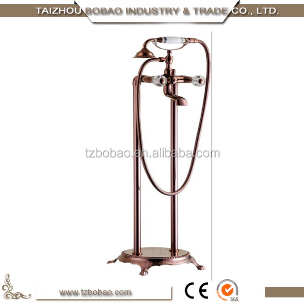 2017 Floor Stand Bathtub Retro Shower Faucet