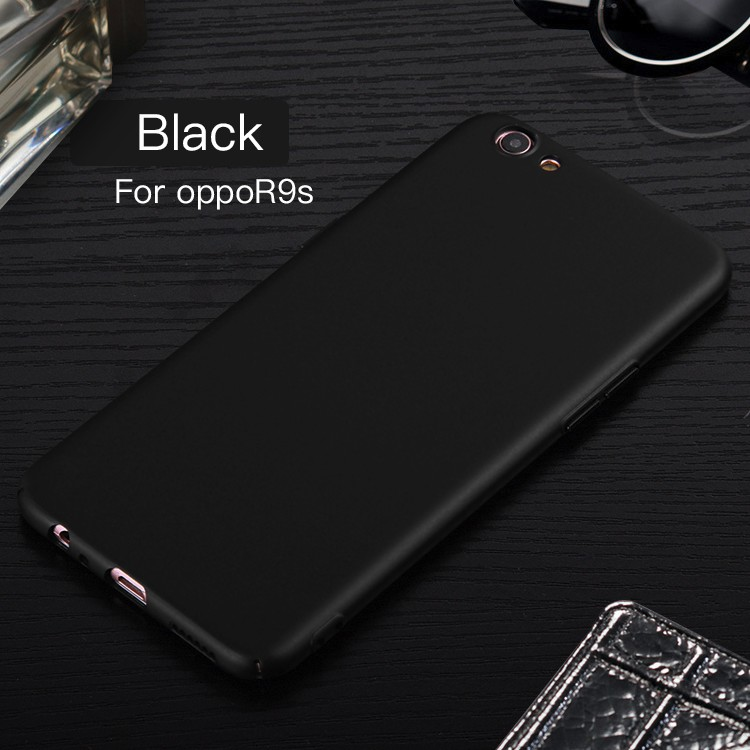 DFIFAN Protective Case For OPPO R9s PC Rubber Oil coated cover Case For OPPO R9s plus Smartphone