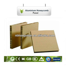 chinese Supplier PE coating Insulated Aluminium Honeycomb Sheets Panel Board