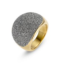 Stainlesss steel latest gold finger ring designs for women