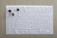high quality reversible cotton drip dry bath mat with low price