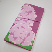 superlucky PU leather fashion print diary traveller notebook cover
