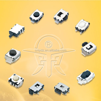 4.7*3.6*1.6 SMT tact switch side operated tactile switch push tact switch LY-A03-02