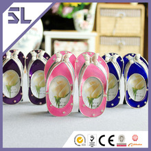 Funny Colorful Flip-Flops Picture Frames Wholesale for Party Decoration Made in China