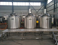 beer manufacturing machine, craft brewing equipment with bottling line