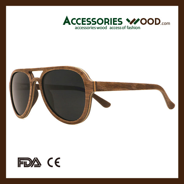 New Flexible wooden sunnies bamboo eyewear mens sunglasses