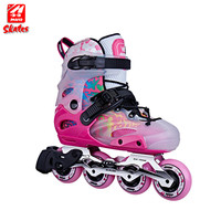 Pvc Roller Shell Inline Skate Heel Kids Size Adjustable And Adults Durable Quad For Skates