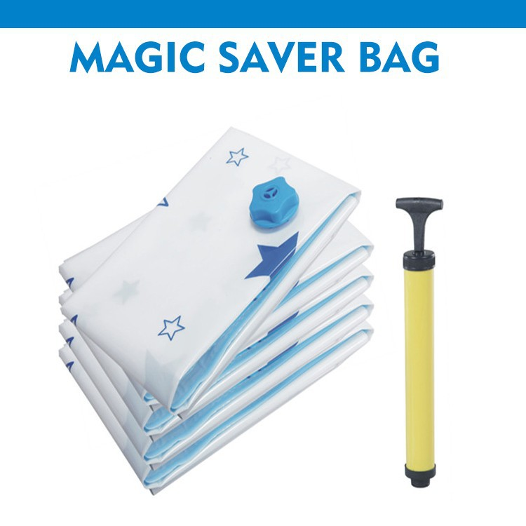 Space savers dry cloth vacuum cleaner storage bag