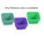 Custom Small Silicone Collapsible Snack Salad Bowl