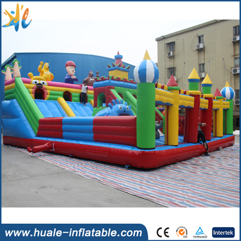 Inflatable amusement park playground/outdoor inflatable fun city