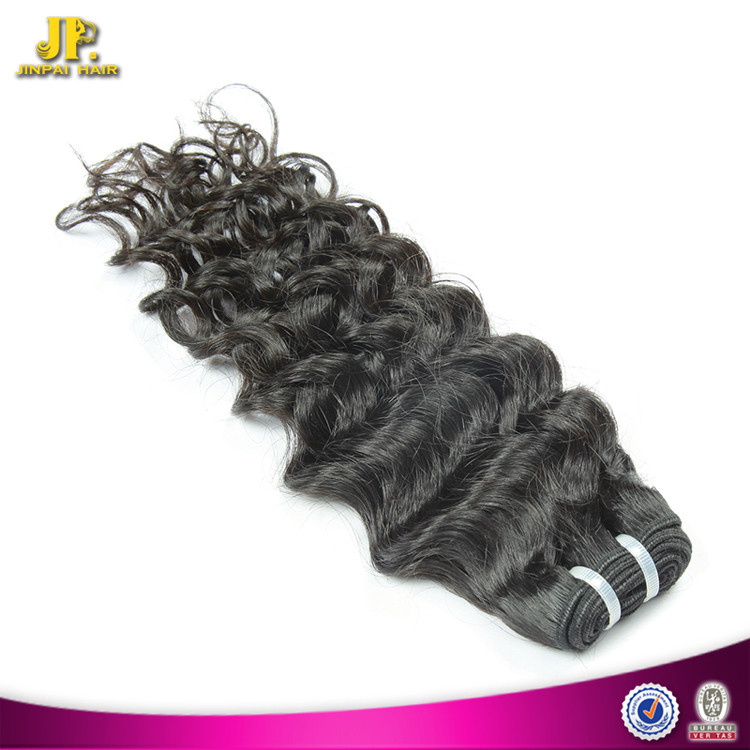 JP Hair Virgin Malaysian Jerry Curl Braiding Human Hair Weft