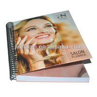 Publications printing, spiral binding hardcover book printing