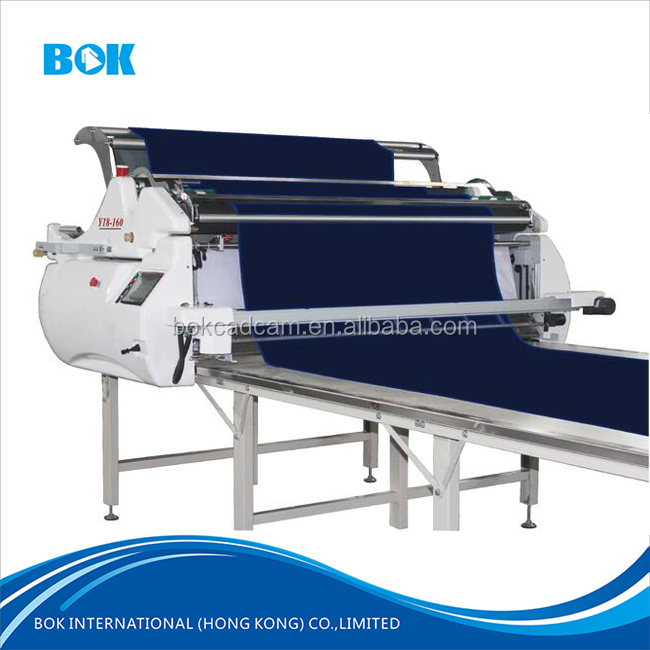 Automatic high speed spreader garment spreading machine for knit/woven fabric from shenzhen knitting machinery