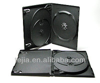 14mm 3 Disc clear without tray MUTIPLE DVD Case