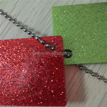 Factory scratch resistant plexiglass glitter acrylic sheet for advertising sign