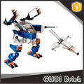 ABS 178pcs assault mecha unmanned plane small building military block set