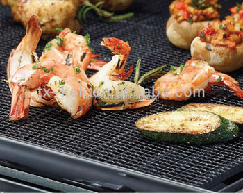 PTFE fiberglass barbecue grill mesh,available for use in your kitchen