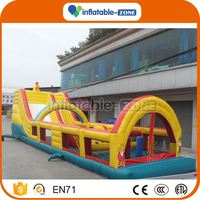 Good quality inflatable floating obstacle for sale children inflatable obstacle