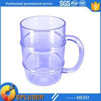 MG03 shenzhen Epluser 32oz Clear Transparent Plastic Cups